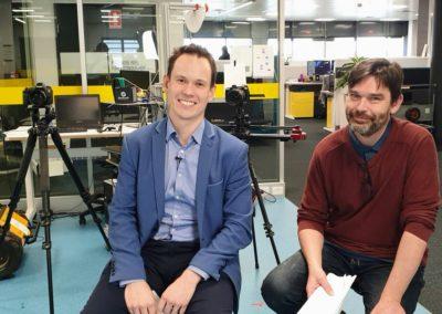 Professor Michael Milford & Matthew Dahlitz
